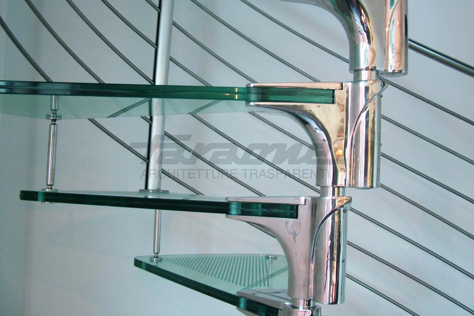 scale acciaio vetro Anima
