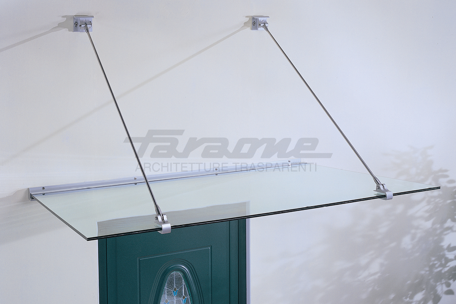 Pensiline vetro alluminio Gran Sasso