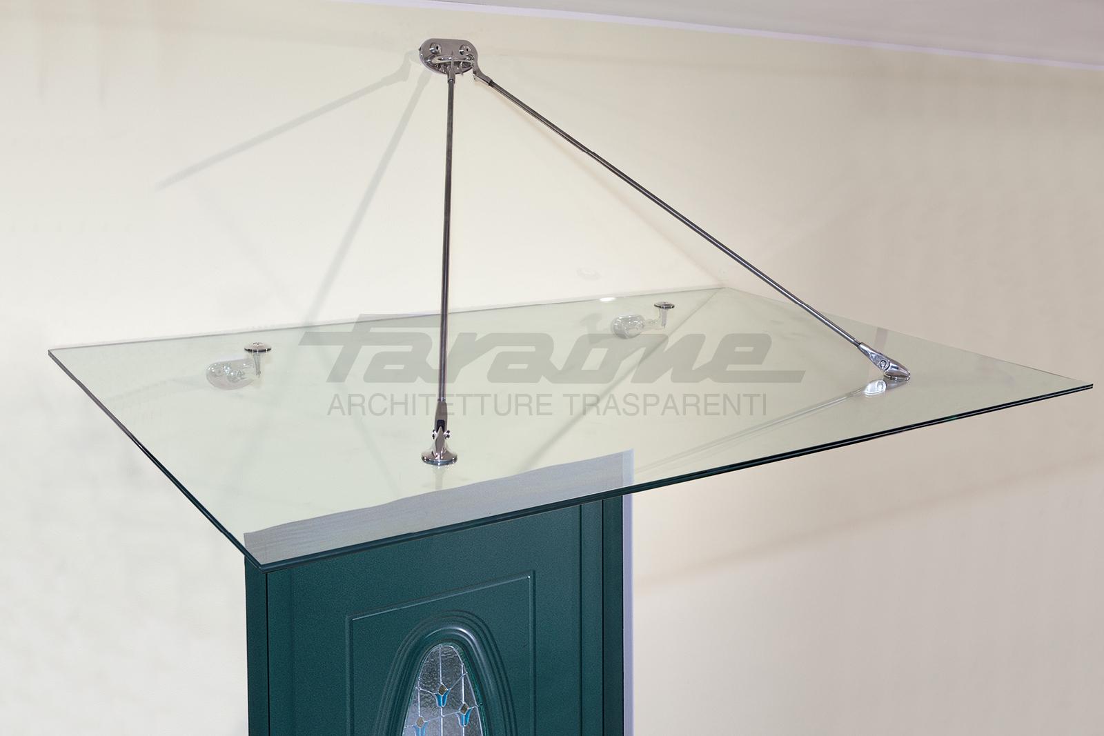 Pensiline acciaio vetro Sfera-N