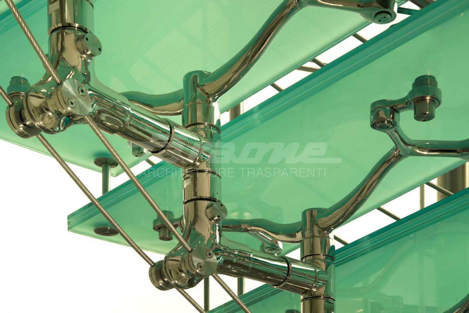 scale acciaio vetro Imperiale