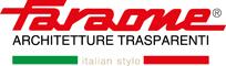 Logo FARAONE Architetture Trasparenti Italian Style tracciato