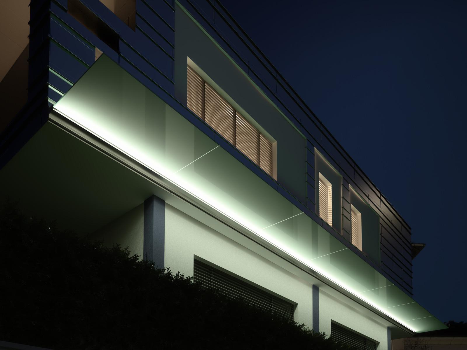 Pensilina Linea per LED