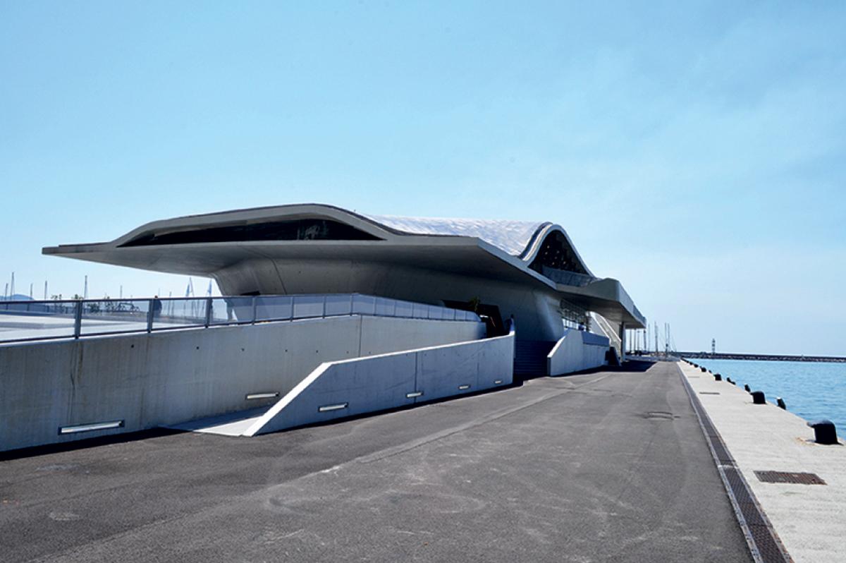 Stazione maritima di Salerno