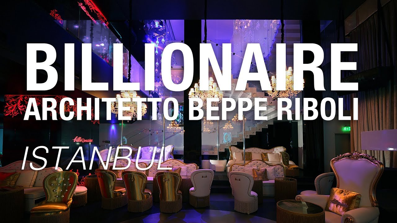 Billionaire Istanbul, architetto Beppe Riboli - Realizzazioni Faraone