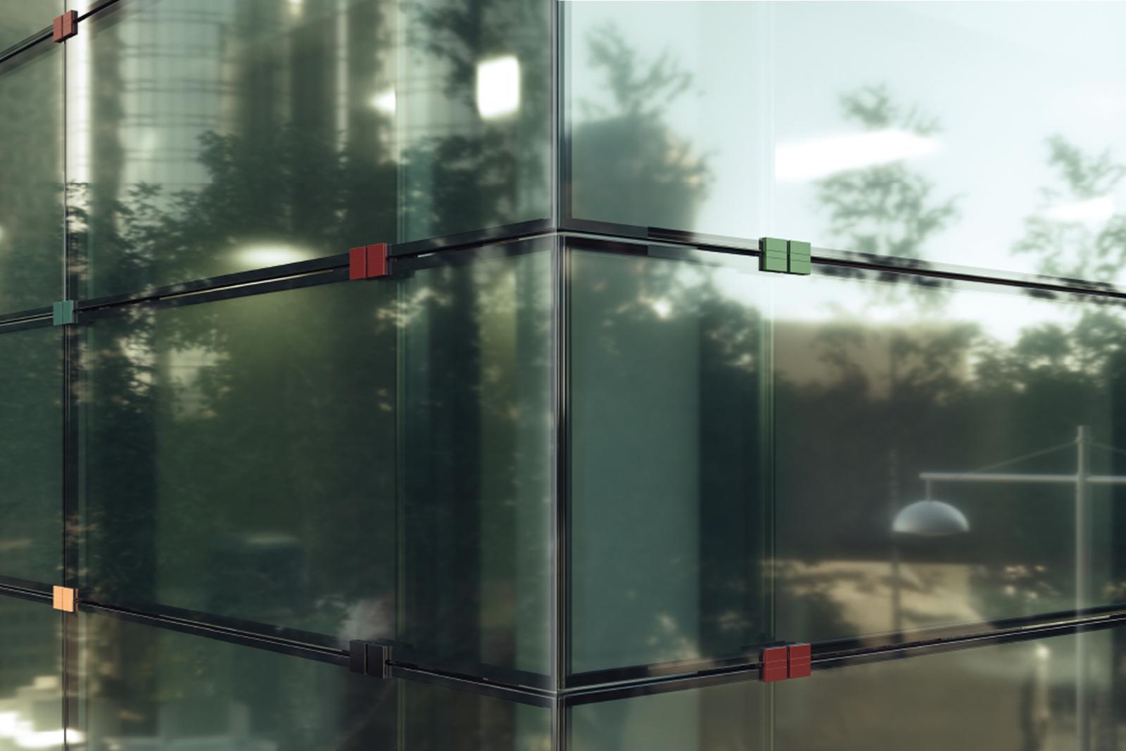 Facciate Klima (vetro stratificato)