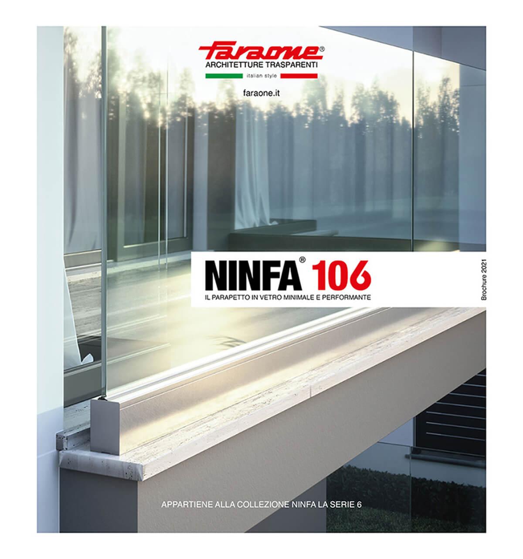 Catalogo Ninfa 106- Parapetti in vetro e alluminio